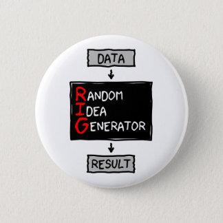 Badge Bouton aléatoire de générateur d'idée (CALEZ les