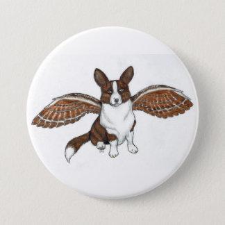 Badge Bouton Brindle d'ange de Cardi