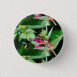 Badge Bouton d'abeille