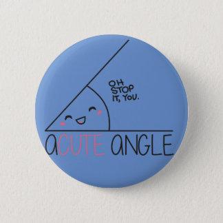 Badge Bouton d'angle aigu