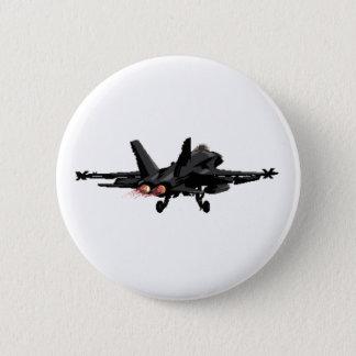 Badge Bouton d'avion de chasse du frelon F/A-18