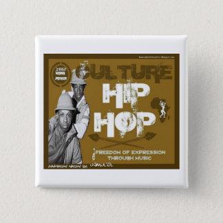 Badge Bouton de Bboys de hip hop de culture