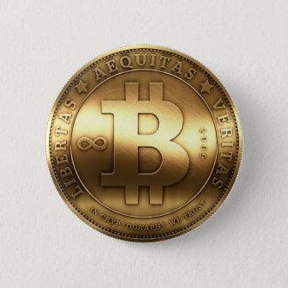 Badge Bouton de Bitcoin