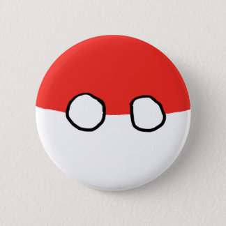 Badge Bouton de boule de la Pologne