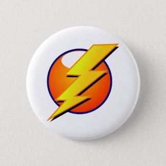 Badge Bouton de boulon de foudre