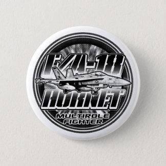 Badge Bouton de bouton de Pinback du frelon F/A-18
