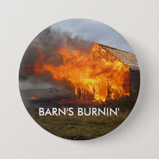 Badge Bouton de Burnin de la grange