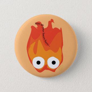Badge Bouton de Calcifer