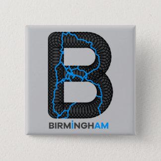 Badge Bouton de canaux de Birmingham