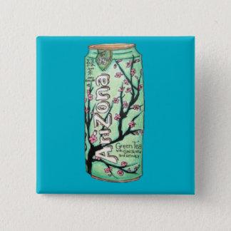 Badge Bouton de carré d'art de griffonnage de Tumblr