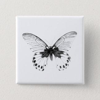Badge Bouton de carré d'art de Tumblr