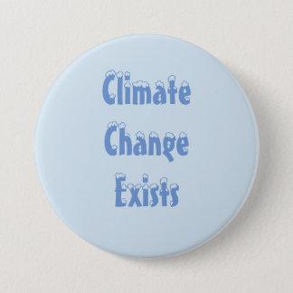 Badge Bouton de changement climatique