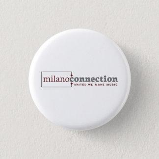 Badge Bouton de connexion de Milan