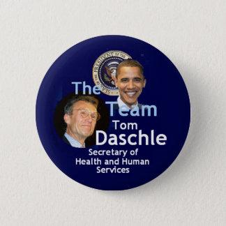 Badge Bouton de Daschle d'équipe