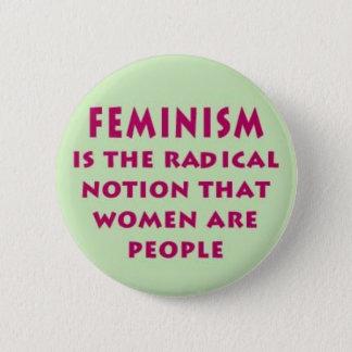 Badge Bouton de déclaration du féminisme