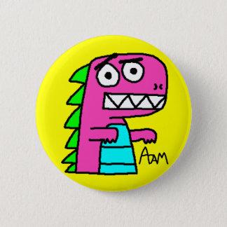 Badge Bouton de Dino