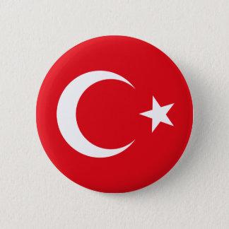 Badge Bouton de drapeau de la Turquie