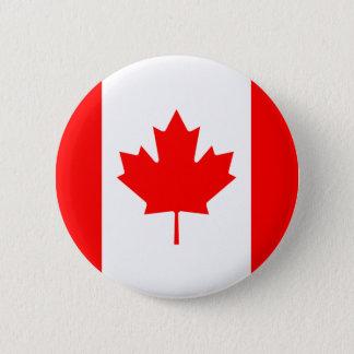 Badge Bouton de drapeau du Canada