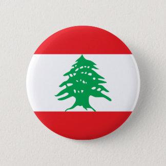 Badge Bouton de drapeau du Liban