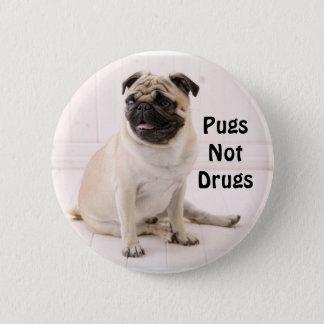 Badge Bouton de drogues de carlins pas