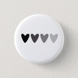 Badge Bouton de effacement de coeurs