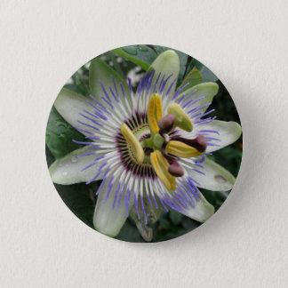 Badge Bouton de fleur de passion