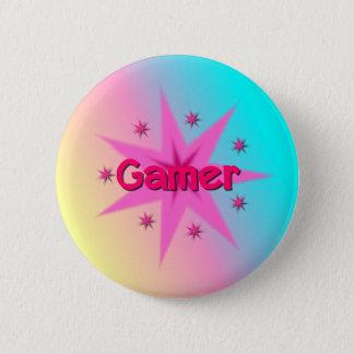 Badge Bouton de Gamer de fille
