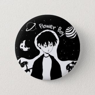 Badge Bouton de garçon de fleur (taille standard)