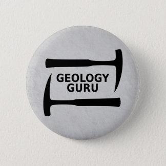 Badge Bouton de Guru de géologie