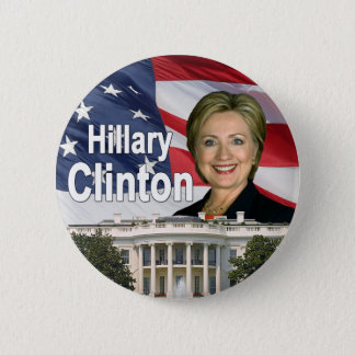 Badge Bouton de Hillary Clinton