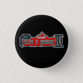 Badge Bouton de jeux de N de pizza mini