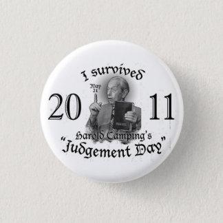 Badge Bouton de Jour du jugement dernier
