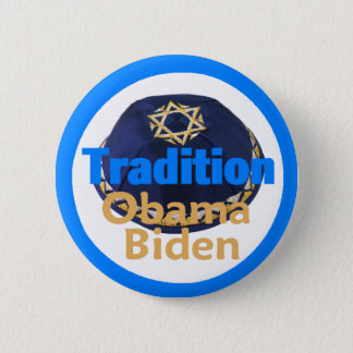 Badge Bouton de KIPPA d'Obama Biden