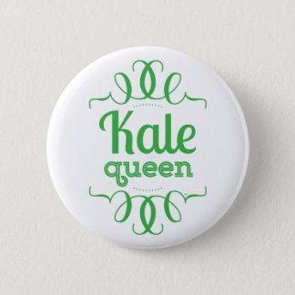Badge Bouton de la Reine de chou frisé