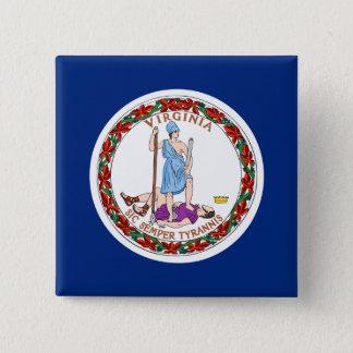 Badge Bouton de la Virginie