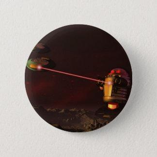 Badge Bouton de l'attaque 2 de robot