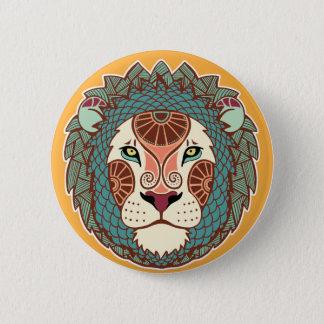 Badge Bouton de Lion