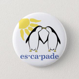 Badge Bouton de logo d'escapade