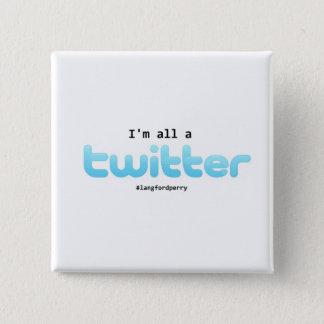 Badge Bouton de Matthew Perry