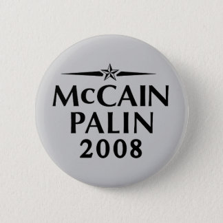 Badge Bouton de McCain Palin 2008