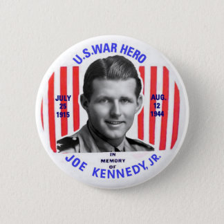 Badge Bouton de mémorial de Jr. de Joe Kennedy
