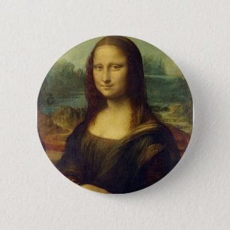 Badge Bouton de Mona Lisa