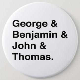 Badge Bouton de pères fondateurs