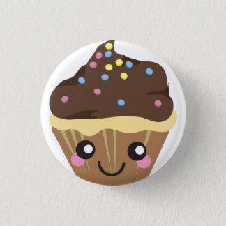 Badge Bouton de petit gâteau de Kawaii