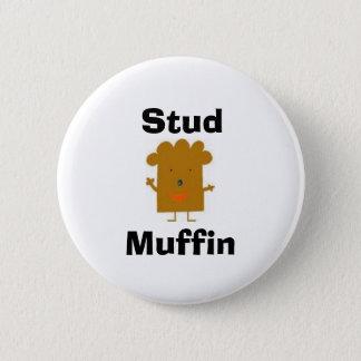 Badge Bouton de petit pain de goujon