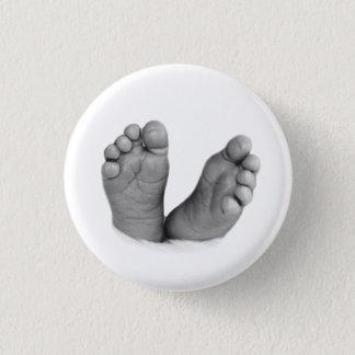 Badge Bouton de pieds de bébé