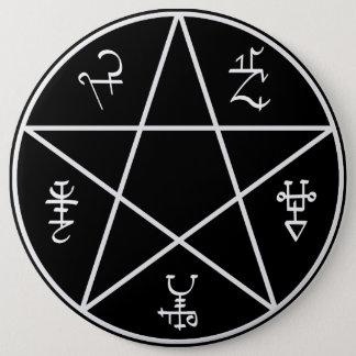 Badge Bouton de piège de démon