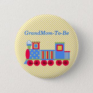 Badge Bouton de Pin de grand-mère de train de baby