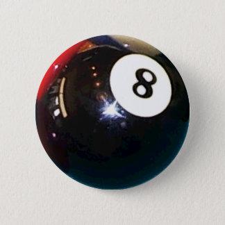 Badge bouton de Pin d'insigne de boule de piscine 8-Ball