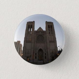 Badge Bouton de Pinback de cathédrale de grâce de San
